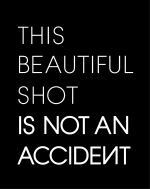 This Beautiful Shot is Not an Accident logo