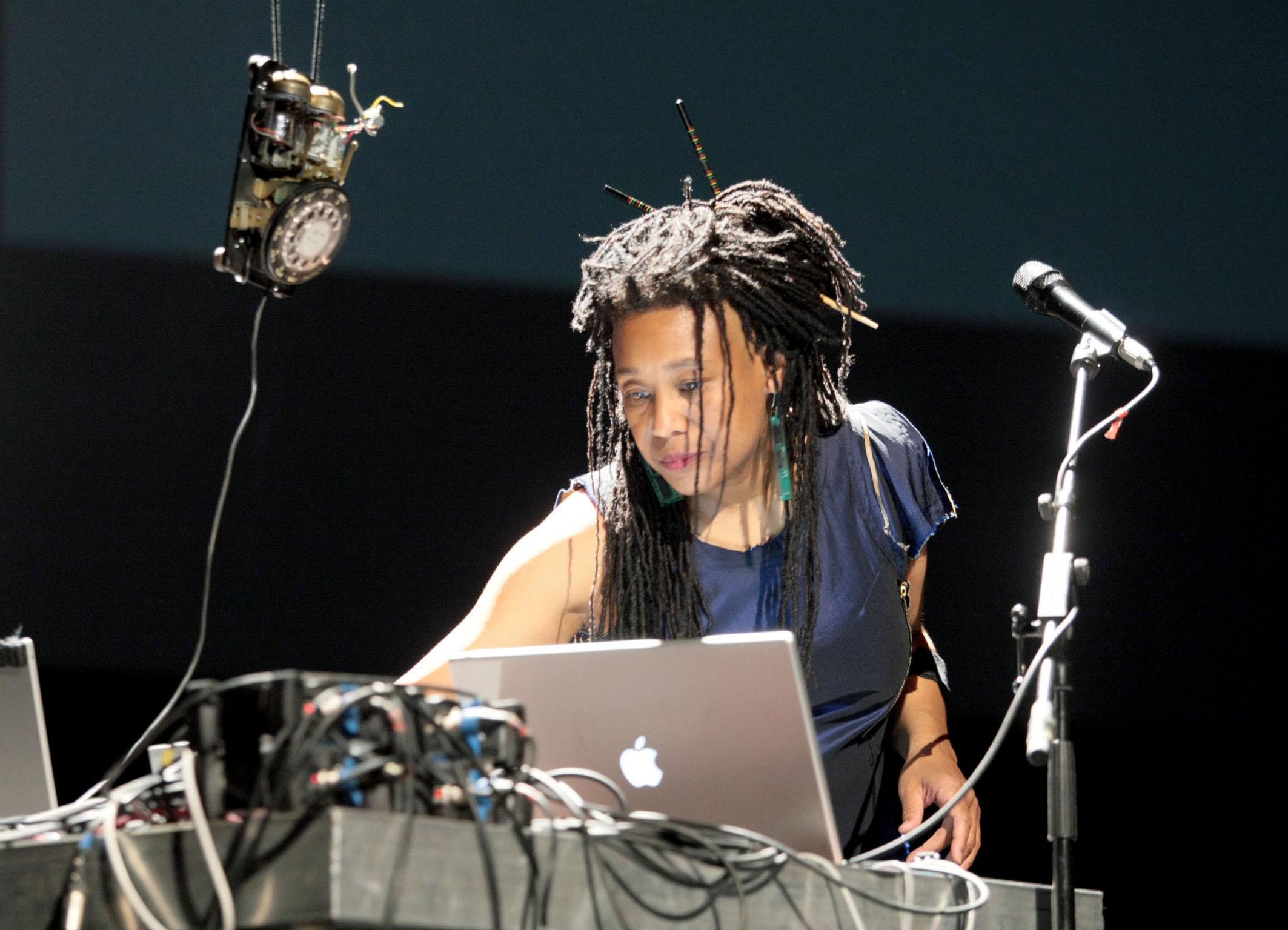 Musician Pamela Z
