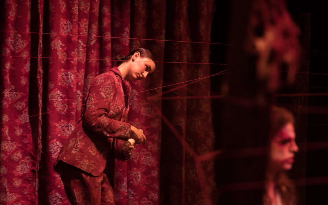 Performance Artist Tone Haldrup Lorenzen